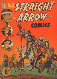 Cover Thumbnail for Straight Arrow Comics (Magazine Management, 1950 series) #1