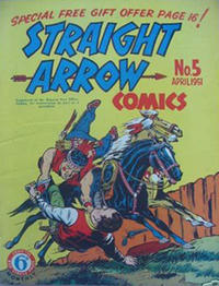 Cover Thumbnail for Straight Arrow Comics (Magazine Management, 1950 series) #5