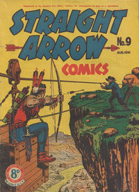 Cover Thumbnail for Straight Arrow Comics (Magazine Management, 1950 series) #9