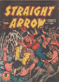 Cover Thumbnail for Straight Arrow Comics (Magazine Management, 1950 series) #10