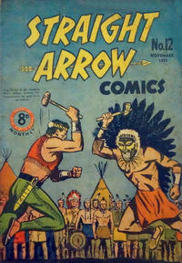 Cover Thumbnail for Straight Arrow Comics (Magazine Management, 1950 series) #12