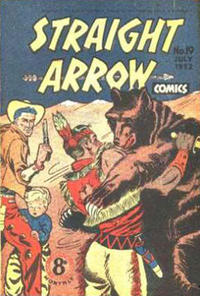 Cover Thumbnail for Straight Arrow Comics (Magazine Management, 1950 series) #19