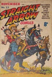 Cover Thumbnail for Straight Arrow Comics (Magazine Management, 1950 series) #23