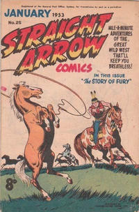 Cover Thumbnail for Straight Arrow Comics (Magazine Management, 1950 series) #25