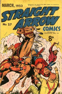 Cover Thumbnail for Straight Arrow Comics (Magazine Management, 1950 series) #27