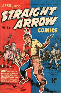 Cover Thumbnail for Straight Arrow Comics (Magazine Management, 1950 series) #28