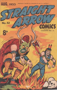 Cover Thumbnail for Straight Arrow Comics (Magazine Management, 1950 series) #32