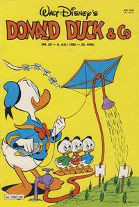 Cover Thumbnail for Donald Duck & Co (Hjemmet / Egmont, 1948 series) #28/1980