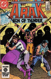 Cover Thumbnail for Arak / Son of Thunder (DC, 1981 series) #38 [Direct]