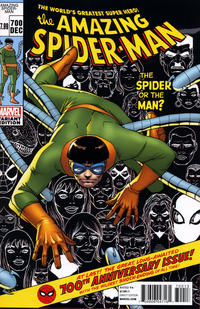 Cover Thumbnail for The Amazing Spider-Man (Marvel, 1999 series) #700 [3rd Printing Variant Cover by Giuseppe Camuncoli]