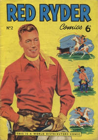 Cover Thumbnail for Red Ryder Comics (World Distributors, 1954 series) #2