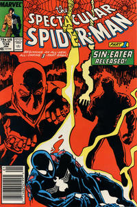 Cover Thumbnail for The Spectacular Spider-Man (Marvel, 1976 series) #134 [Newsstand]