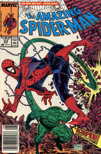 Cover Thumbnail for The Amazing Spider-Man (Marvel, 1963 series) #318 [Newsstand Edition]