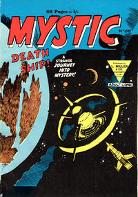 Cover Thumbnail for Mystic (L. Miller & Son, 1960 series) #66