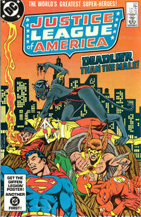 Cover Thumbnail for Justice League of America (DC, 1960 series) #221 [Direct Sales]