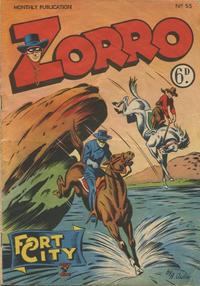 Cover Thumbnail for Zorro (L. Miller & Son, 1952 series) #53