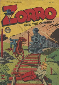 Cover Thumbnail for Zorro (L. Miller & Son, 1952 series) #58