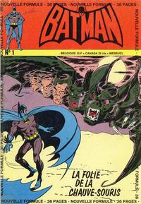 Cover Thumbnail for Batman (Interpresse, 1972 series) #1