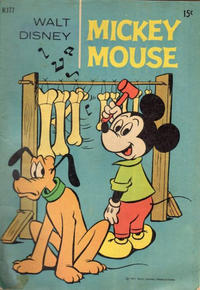 Cover Thumbnail for Walt Disney's Mickey Mouse (W. G. Publications; Wogan Publications, 1956 series) #177