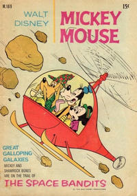 Cover Thumbnail for Walt Disney's Mickey Mouse (W. G. Publications; Wogan Publications, 1956 series) #169