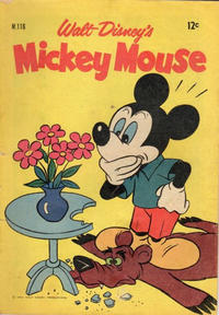 Cover Thumbnail for Walt Disney's Mickey Mouse (W. G. Publications; Wogan Publications, 1956 series) #116