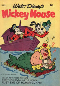 Cover Thumbnail for Walt Disney's Mickey Mouse (W. G. Publications; Wogan Publications, 1956 series) #113