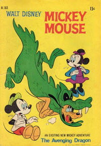 Cover Thumbnail for Walt Disney's Mickey Mouse (W. G. Publications; Wogan Publications, 1956 series) #183