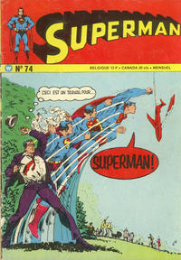 Cover Thumbnail for Superman (Interpresse, 1969 series) #74