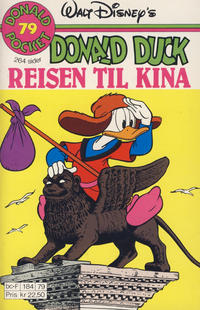 Cover Thumbnail for Donald Pocket (Hjemmet / Egmont, 1968 series) #79 - Donald Duck Reisen til Kina [1. opplag]