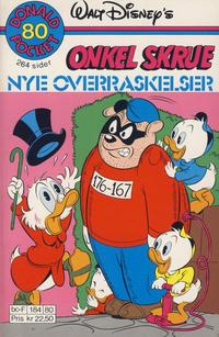 Cover Thumbnail for Donald Pocket (Hjemmet / Egmont, 1968 series) #80 - Onkel Skrue Nye overraskelser [1. opplag]