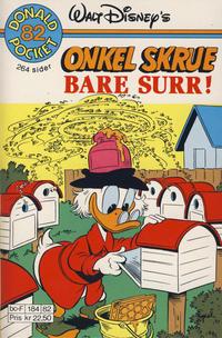 Cover Thumbnail for Donald Pocket (Hjemmet / Egmont, 1968 series) #82 - Onkel Skrue Bare surr! [1. opplag]