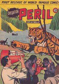 Cover Thumbnail for Operation Peril (Atlas, 1953 series) #1