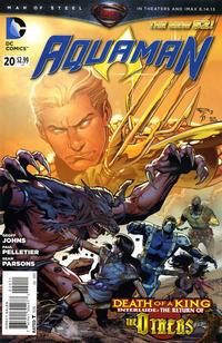 Cover Thumbnail for Aquaman (DC, 2011 series) #20
