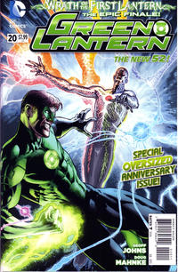 Cover Thumbnail for Green Lantern (DC, 2011 series) #20