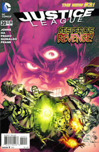 Cover Thumbnail for Justice League (DC, 2011 series) #20 [Direct Sales]