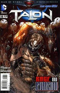 Cover Thumbnail for Talon (DC, 2012 series) #8