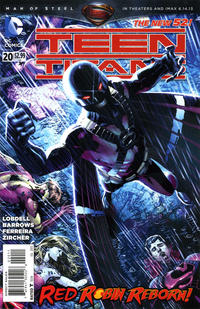 Cover Thumbnail for Teen Titans (DC, 2011 series) #20 [Direct Sales]