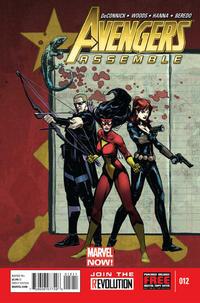 Cover Thumbnail for Avengers Assemble (Marvel, 2012 series) #12