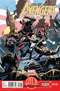 Cover Thumbnail for Avengers Assemble (Marvel, 2012 series) #15AU