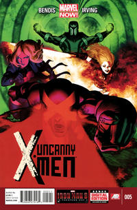 Cover for Uncanny X-Men (Marvel, 2013 series) #5