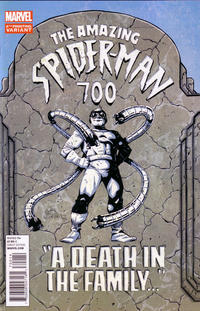 Cover Thumbnail for The Amazing Spider-Man (Marvel, 1999 series) #700 [4th printing Ryan Stegman]