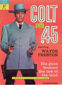 Cover Thumbnail for A Movie Classic (World Distributors, 1956 ? series) #51 - Colt .45