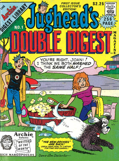 Cover for Jughead's Double Digest (Archie, 1989 series) #1 [Newsstand]