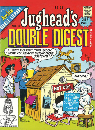 Cover for Jughead's Double Digest (Archie, 1989 series) #3 [Newsstand]
