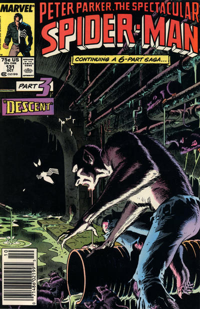 Cover for The Spectacular Spider-Man (Marvel, 1976 series) #131