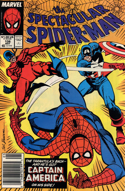 Cover for The Spectacular Spider-Man (Marvel, 1976 series) #138