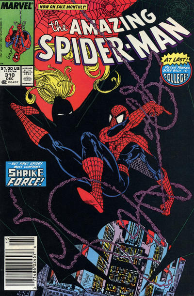 Cover for The Amazing Spider-Man (Marvel, 1963 series) #310 [Newsstand Edition]