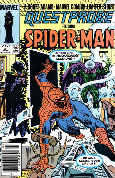 Cover for Questprobe (Marvel, 1984 series) #2 [Direct]