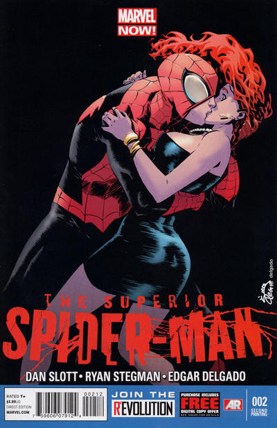 Cover for Superior Spider-Man (Marvel, 2013 series) #2 [McGuinness]