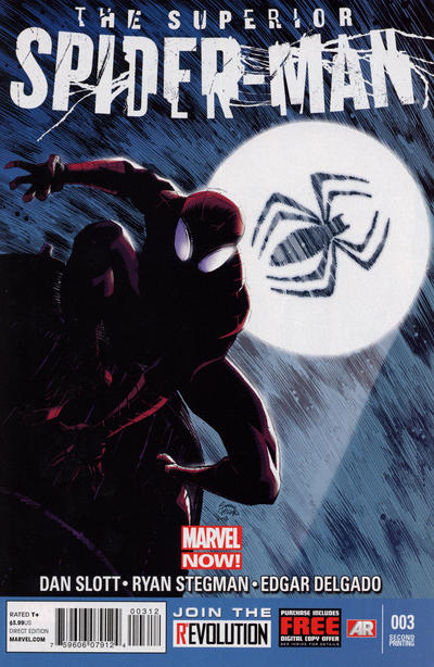 Cover for Superior Spider-Man (Marvel, 2013 series) #3 [Variant Cover by Simone Bianchi]